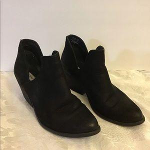Steve Madden Women's High Heel Booties Black